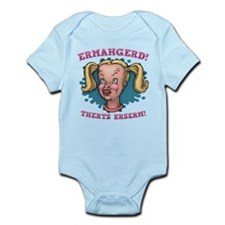 Ermahgerd! Therts Erserm! Infant Bodysuit