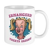 Ermahgerd! Therts Erserm! Small Mug