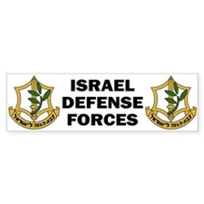 IDF - Israel Defense Forces Bumper Bumper Sticker