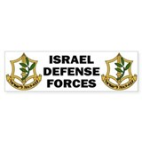 IDF - Israel Defense Forces Bumper Stickers