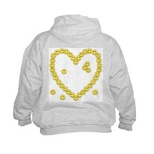 Little Hlthy Cells(Heart Back) Hoodie