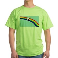 Sliding down a Rainbow T-Shirt