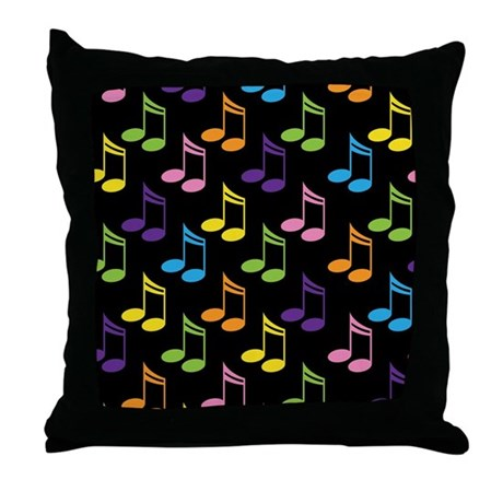 Cute Gift For Music Teacher Throw Pillow