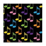 Cute Gift For Music Teacher Tile Coaster