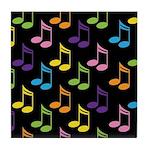 Cute Gift For Music Teacher Tile Coaster