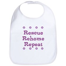 The 3 Rs needed for successful fostering! Bib
