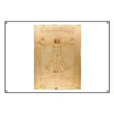 The Vitruvian Man Banner