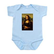 Mona Lisa - Leonardo da Vinci Infant Bodysuit