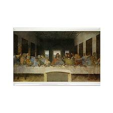 The Last Supper - Leonardo da Vinci Rectangle Magn