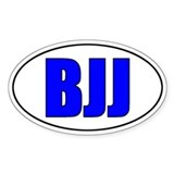 BJJ - Blue Belt Decal