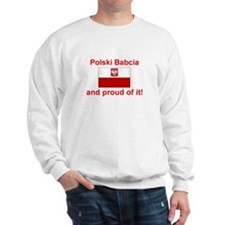 Polish Babcia(Grandmother) Sweatshirt