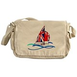 GBR British 470 Class Sailors Messenger Bag