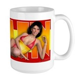 PINUP MUG Large - Girls of the World (Spain)