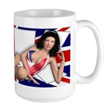 PINUP MUG Large - Girls of the World (UK)