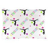 Neon Gymnast Pillow Case