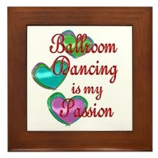 Ballroom Passion Framed Tile
