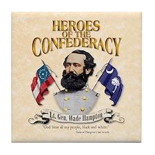 Lt. Gen. Wade Hampton Collectible Tile