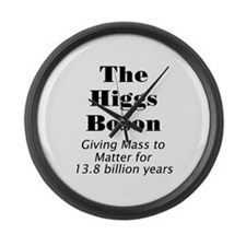 The Higgs Boson Large Wall Clock