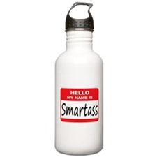 Smartass Name Tag Sports Water Bottle