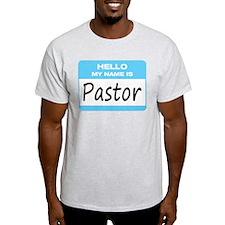Pastor Name Tag T-Shirt