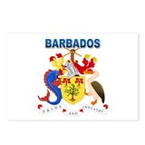 Barbadian Coat of Arms Postcards (Package of 8)
