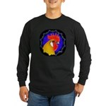 Campine Rooster Gold Long Sleeve Dark T-Shirt