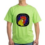 Campine Rooster Gold Green T-Shirt