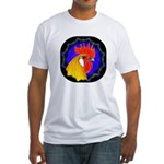 Campine Rooster Gold Fitted T-Shirt
