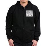 Know Your Cuts of Lamb Zip Hoodie