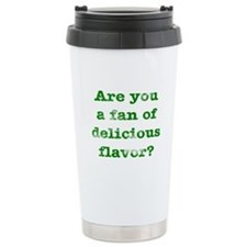 Delicious Flavor Ceramic Travel Mug