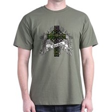 Gordon Tartan Cross T-Shirt