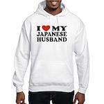 I Love My Japanese Husband Hooded Sweatshirt