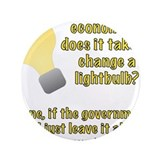 "Economist Lightbulb joke 3.5"" Button"
