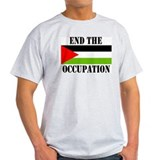End the Occupation - Ash Grey T-Shirt