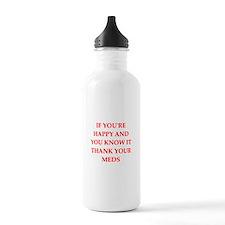 happy Sports Water Bottle
