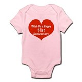 Wish us a Happy 31st Anniversary Infant Bodysuit
