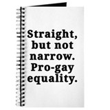 Straight, pro-gay equality - Journal