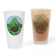 Simple South Mountain MGR logo Drinking Glass