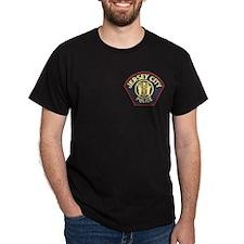 Jersey City Police Black T-Shirt