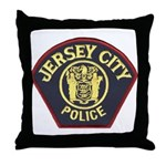 Jersey City Police Throw Pillow