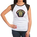 Jersey City Police Women's Cap Sleeve T-Shirt