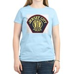 Jersey City Police Women's Pink T-Shirt