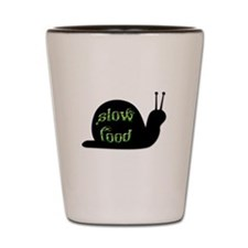 Slow Food Snail Shot Glass
