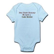 Unique Mommy is a nurse Infant Bodysuit