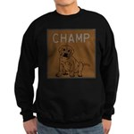 OYOOS Champ Dog design Sweatshirt (dark)