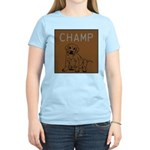 OYOOS Champ Dog design Women's Light T-Shirt