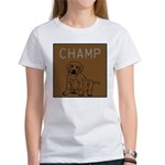 OYOOS Champ Dog design Women's T-Shirt