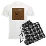 OYOOS Champ Dog design Men's Light Pajamas