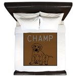 OYOOS Champ Dog design King Duvet