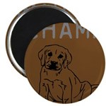 OYOOS Champ Dog design Magnet